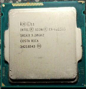 Processeur CPU Intel Xeon E3-1225 V3 SR1KX 3.2Ghz 8Mo Quad Core LGA1150 5GT/s