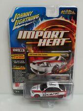 Johnny Lightning Import Heat 1998 Honda Civic Custom 1 Of 2016 Bishop Red