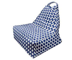 Bean Bag Chair, Minimalist Japanese Style Print Design 3, Full Print, Made in EU