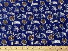 Villanova University Wildcats, Tone, Half yard (18� x 42�) 100% Cotton Fabric