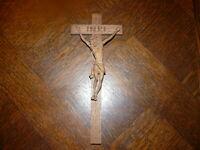 Rarität über 100 Jahre altes Holzkreuz massives Holzkreuz