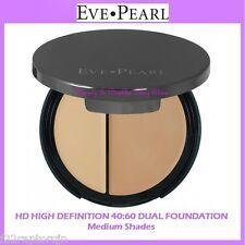 NEW Eve Pearl HD HIGH DEFINITION 40:60 DUAL FOUNDATION-Medium Shades FREE SHIP