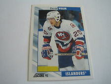1992/93 SCORE HOCKEY DAVE VOLEK CARD #166***NEW YORK ISLANDERS***
