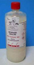 Hartglanzwachs farblos 1 Flasche 1000 ml. , Bohnerwachs flüssig, Trennmittel!
