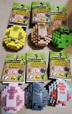 New Minecraft Spawn Eggs ~ Complete Set of 6 FREE SHIPPING