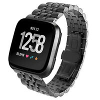 Perfect Stainless Steel Watch Band Bracelet Wrist Strap For Fitbit Versa Versa 2