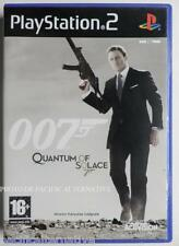 SANS NOTICE - jeu 007 QUANTUM OF SOLACE pour playstation 2 PS2 james bond craig