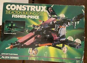 Vintage Fisher Price 1985 Construx 6215 Alien Series Battlestrike