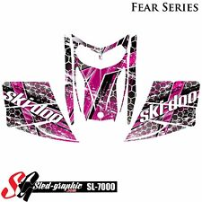 SLED WRAP DECAL STICKER GRAPHICS KIT FOR SKI-DOO REV MXZ SNOWMOBILE 03-07 SL7000