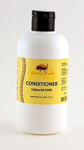 Coloured Hair Conditioner with Emu Oil 250ml, NATURAL and REHYDRATING