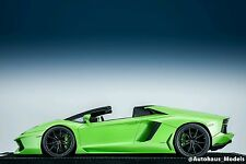 1/18 MR Collectiion Lamborghini Aventador LP-700 Roadster Ithaca Green