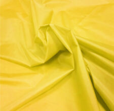 Yellow Nylon Fabric 5oz Waterproof Material Tent Camp Gaiters Seat Outdoor Cover