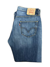 Original Levi's 501 ® Classic Straight Leg Blue Denim Jeans W34 L29 ES 7018