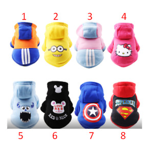Pet clothes autumn and winter new dog cat cartoon hat sweater warm Faddy