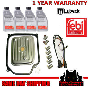 Transmission Harness Solenoid Service Fluid Kit VW Golf Jetta Beetle 98-2005 01M