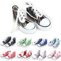 """1Pair 3.5cm Canva Shoes For Blythe Dolls Causal Shoes For 11.5"""" Doll Mini Shoes"""