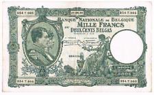 "1000 Frank/200 Belgas    type  ""1919"" Nationale Reeks    27.06.1932    Morin 98a"