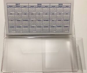 SIDE TEAR CHECKBOOK COVER VINYL CLEAR/FROSTED WITH DUPLICATE FLAP