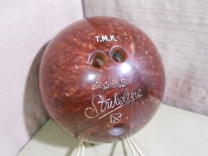 AMF Strike line Bowling Ball Root beer Brown Women's 13#