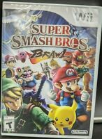 Super Smash Bros. Brawl - Nintendo Wii - New! - FACTORY SEALED! - Free Shipping!