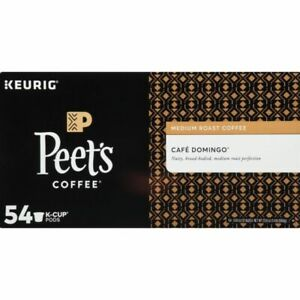 Peet's Coffee Domingo Medium Roast K-Cup Pods - Pack of 54 FREE SHIPPING