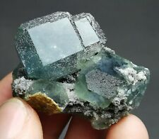 New Listing78.9g Rare Beauty Blue Fluorite Crystal Mineral Specimen/China