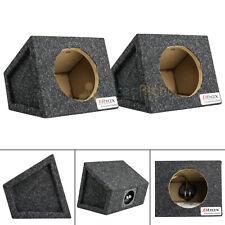"6.5"" Car Speaker Box Universal Enclosure Sealed w/ Terminals Atrend 6.5PR Pair"
