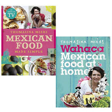 Thomasina Miers  Collection 2 Books Set(Mexican Food Made Simple) New Hardcover