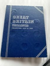 More details for whitman  folder  shillings 1937-1951 complete english & scottish collection