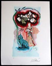 SALVADOR DALI lithograph TAROT   HAND SIGNED 1977