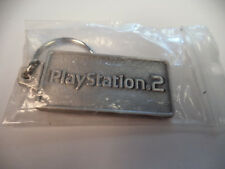 SONY PLAYSTATION 2 Metal Keychain gamestop expo E3 PAx EXCLUSIVE PROMO SWAG PS2