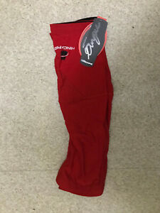 Hincapie Knee Warmers New In Bag XL Red