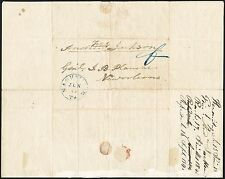 US President Andrew Jackson Signed Autograph Free Frank Cover To General Plauche