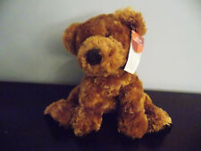 "Russ Bears From the Past 9"" Brown Plush Bear Toffee NWT"