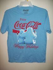 NEW Mens Coca Cola Holiday T-shirt Large
