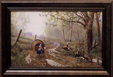 "Jim Hansel Spring Fever Wild Turkey Decorator Art Print-Framed   14.5"" x 10.5"""