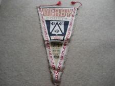 1969 Derby County 2ND Divisione CHAMPIONS & F.A. COPPA DELLE COPPE 1946 grandi pennant