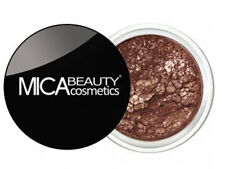 "Mica Beauty  MINERAL MAKEUP 1xEYE SHADOW "" Diligence "" #91+ application"