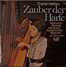 CHANTAL MATHIEU: Zauber der Harfe (Magic of the Harp)-NM1977LP GERMAN IMPORT