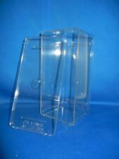 Clear Plastic Display Box 8 X 4 X 4 Inches
