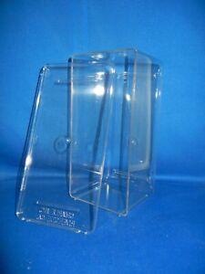 Clear Plastic Display Box 8 X 4 X 4 Inches