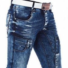 CIPO /& Baxx Kansas épaisseur coutures Hommes Jeans Denim cd485 toutes les taille NEUF