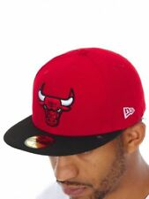 New Era Chicago Bulls 100% Cotton Hats for Men