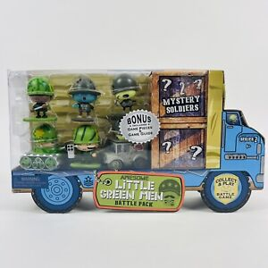 Awesome Little Green Men Battle Pack Series 2 8 Soldiers Zombie Green Figures