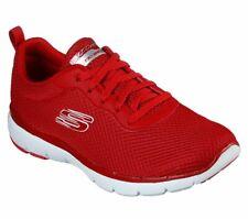 Skechers Women's Flex Appeal 3.0-first Insight Shoe Red 9 M US