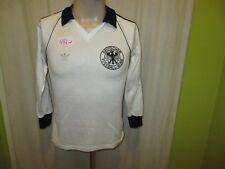 "Deutschland ""DFB"" Nr.446 Adidas Langarm EM Qualifikation Trikot 1978-1979 Gr.S"