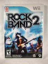 Rock Band 2 (Nintendo Wii, 2008) Game complete