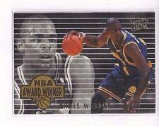 1994-95 FLEER ULTRA BASKETBALL NBA AWARD WINNERS INSERT CHRIS WEBBER #4 OF 4