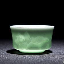Beatiful & Exquisite Artwork Hand Made Craft Lotus Tea Porcelain Cup