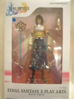 USED FINAL FANTASY X PLAY ARTS Yuna PVC Painted Action Figure SQUARE ENIX Japan